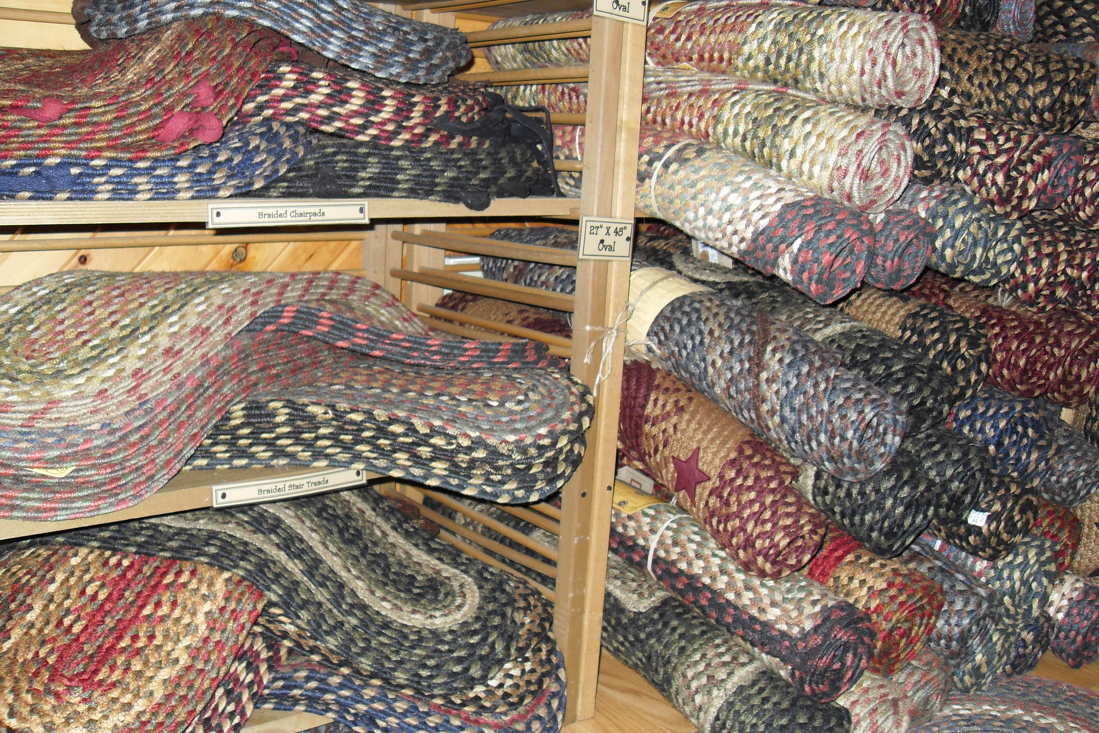 Delightful Braided Jute Rugs, Chairpads U0026 Stair Treads